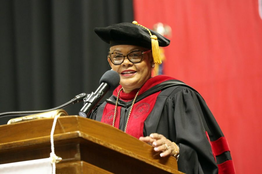 President Jones says goodbye to Cal U after 46 years