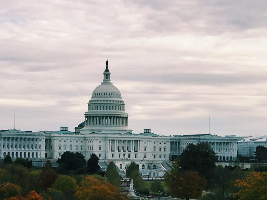The United States Capitol in Washington, D.C. is viewed from the balcony of the former Newseum on the National Mall on Nov. 24, 2019. Insurrectionists broke into the Capitol  during a Joint Session of Congress as Vice President Mike Pence received the Electoral College votes on Jan. 6, 2021.