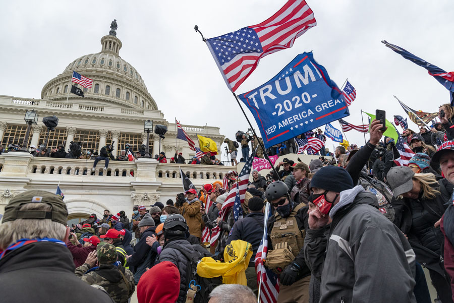 Last+Wednesday%2C+Jan.+6%2C+pro-Trump+demonstrators+infiltrated+the+Capitol+building%2C+interrupting+the+counting+of+electoral+votes+that+would+confirm+Joe+Biden%27s+win.