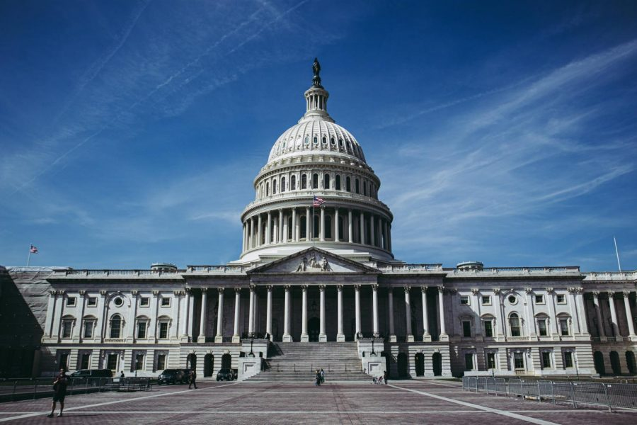 The United States Capitol Building, Washington, DC. The Capitol is the site where Congress presides over the legislative branch of the United States government. It is also the site of an attack by domestic terrorists on January 6, 2021, in an attempt to overturn the 2020 Presidential election.