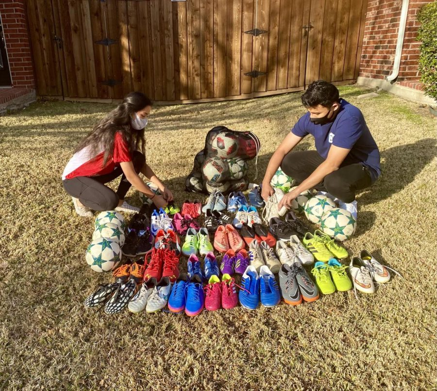 Manandhar siblings reaching goals: Duo donating soccer cleats to Nepal, mental awareness campaign (with video)