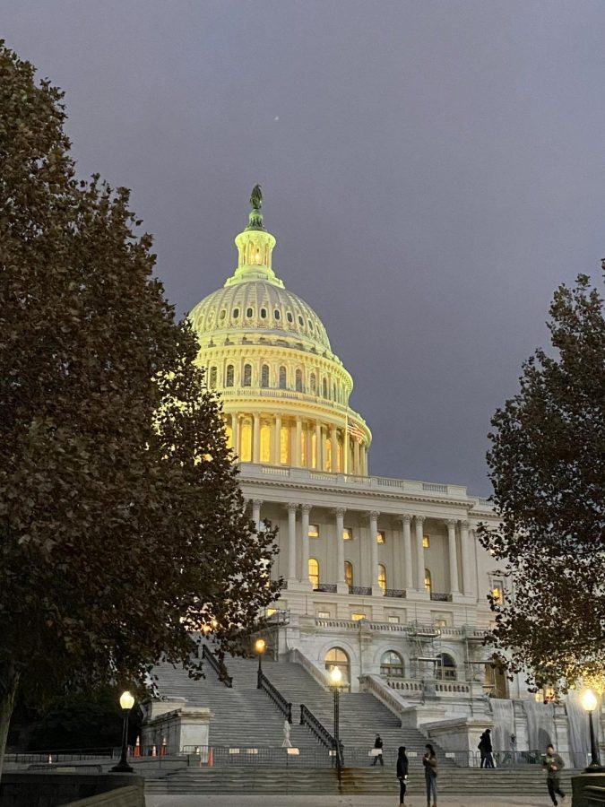 Extremist supporters of President Trump invade Capitol in failed effort to halt confirmation of the President-elect