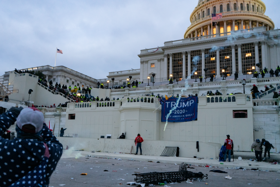 Mass insurrection disturbs Washington D.C. and interrupts a joint Congress session on January 6.