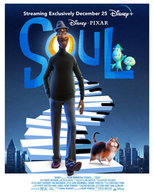 "Pixar released the animated film ""Soul""in December, and it is one of their very first to feature an African-American lead protagonist."