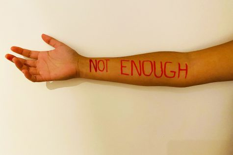 "The words ""not enough"