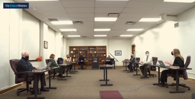 Student board member impacts district decisions on Covid safety