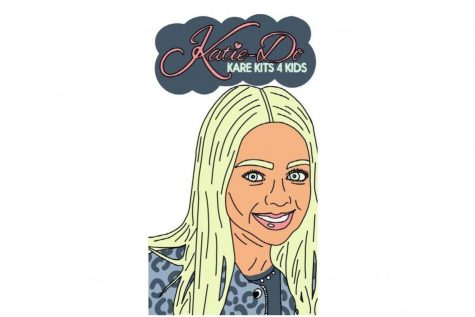 Maddie Domian tends to children with cancer by gifting them a Katie-Do Kare Kit each month.