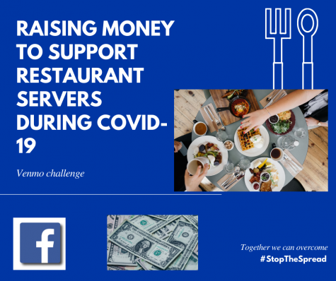 The Towsends orchestrated a Venmo challenge in which they raised money for a restaurant server.