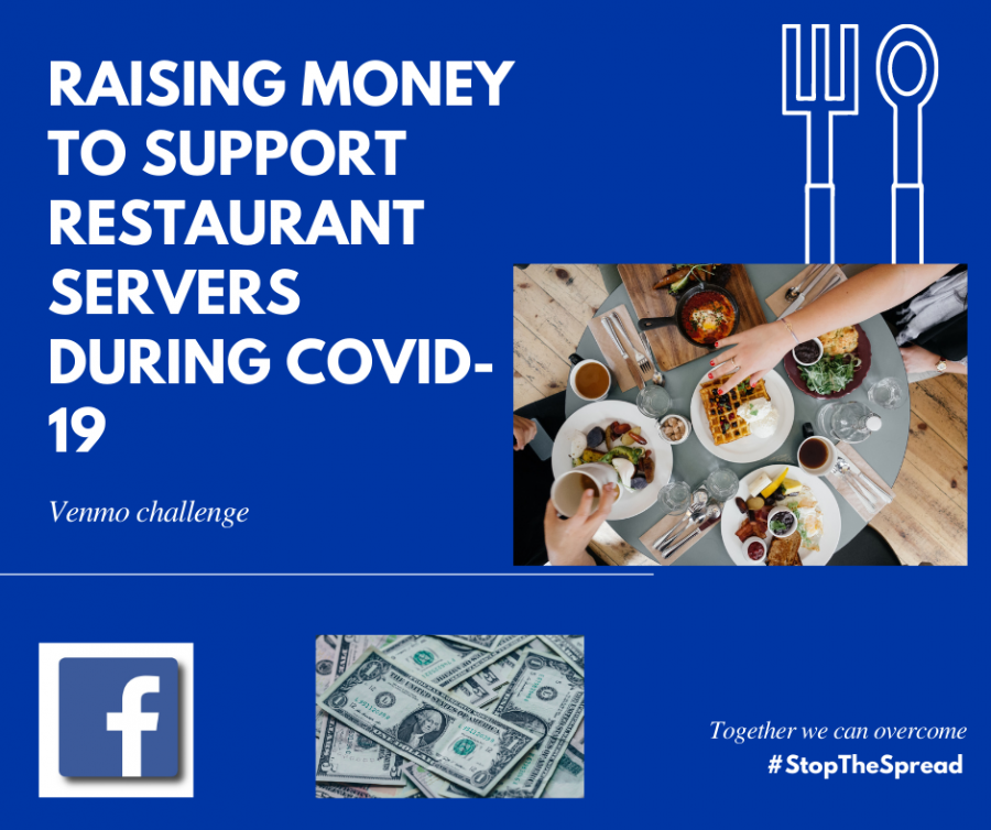 The+Towsends+orchestrated+a+Venmo+challenge+in+which+they+raised+money+for+a+restaurant+server.