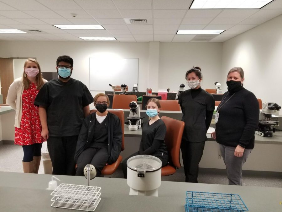 Four seniors on track to earn phlebotomy certification before graduation