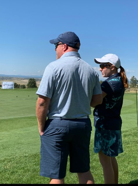 Positivity, pars and putts guide freshman Kylie Secrest