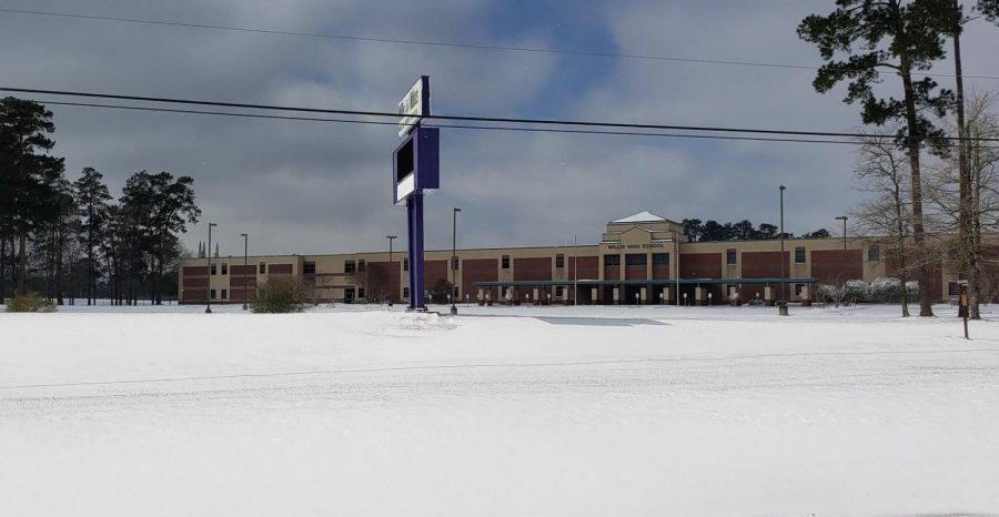School resumes after unusual Texas snow event