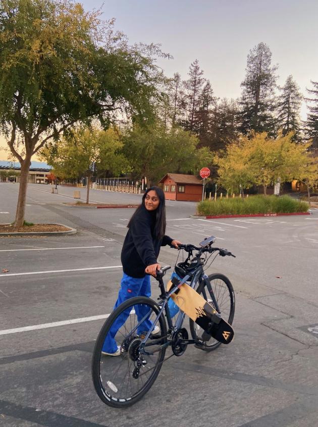 Biking during quarantine