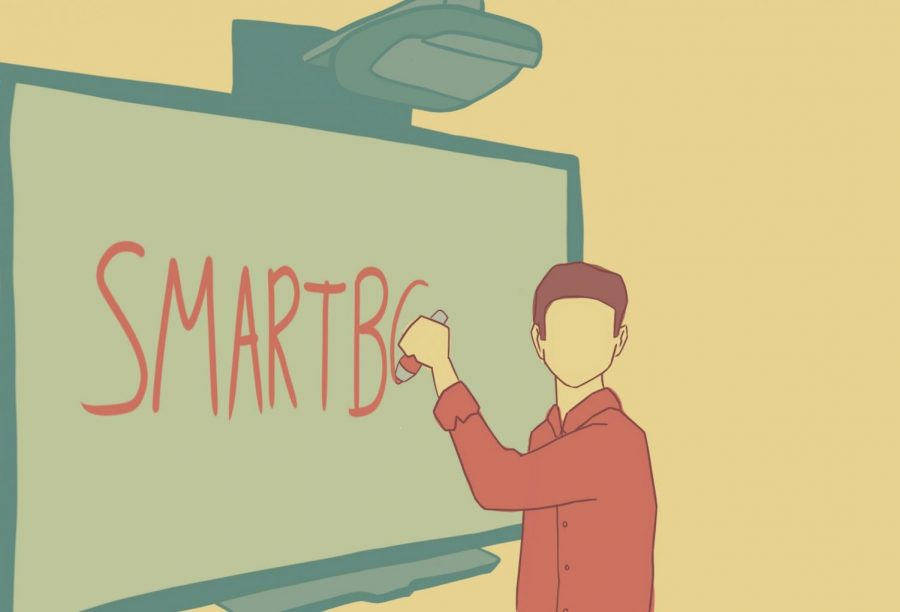 How interactive whiteboards took over