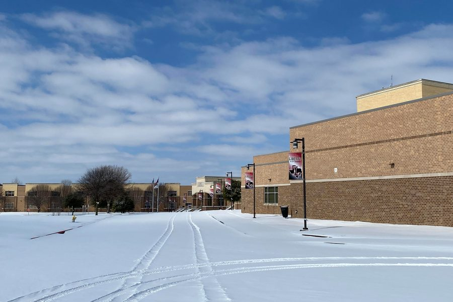 Asynchronous learning takes place following winter storm