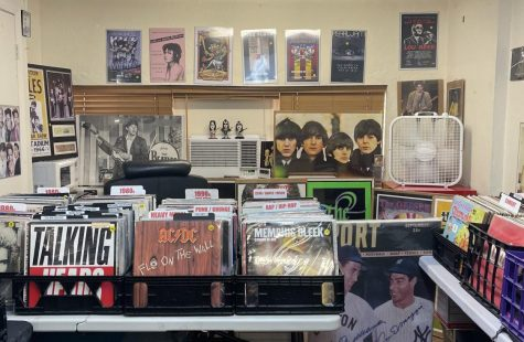 """Gables Records N Comics"" offers a wide variety of records spanning all genres and several decades."