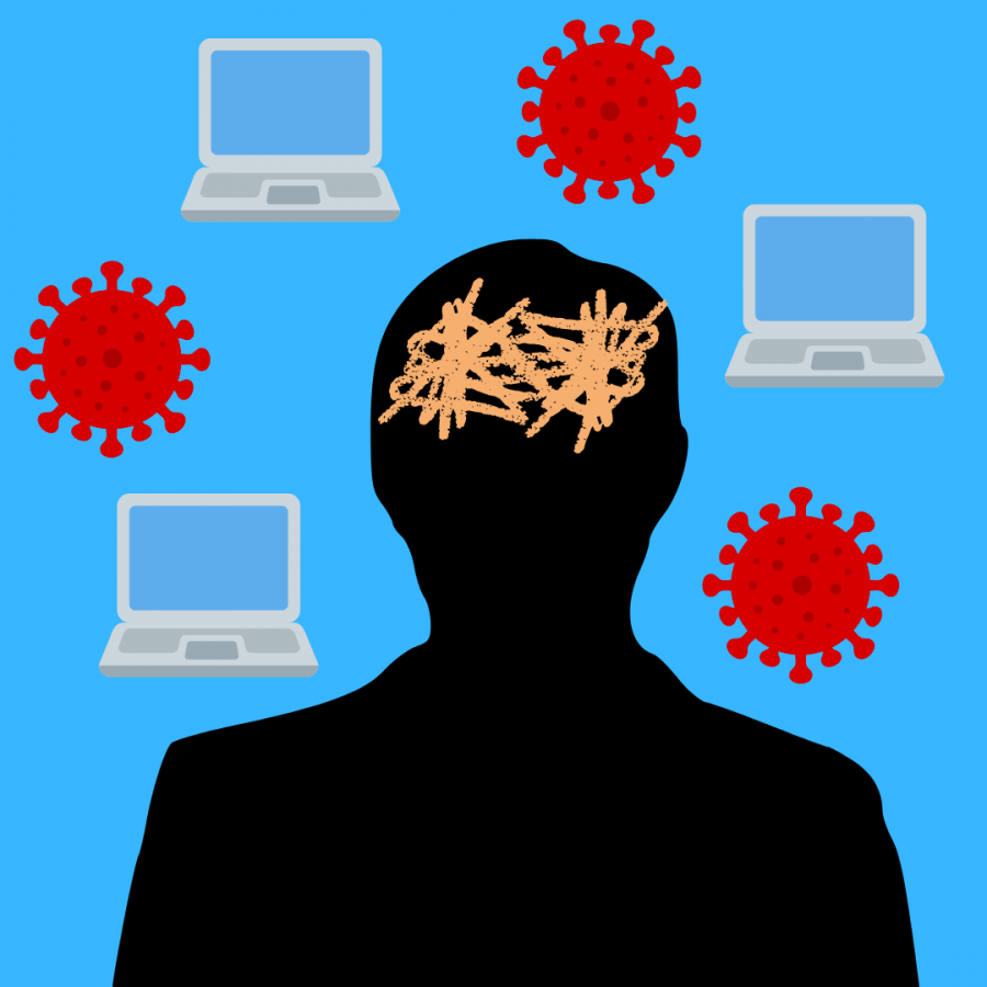 One year later: pandemic-related mental health issues linger