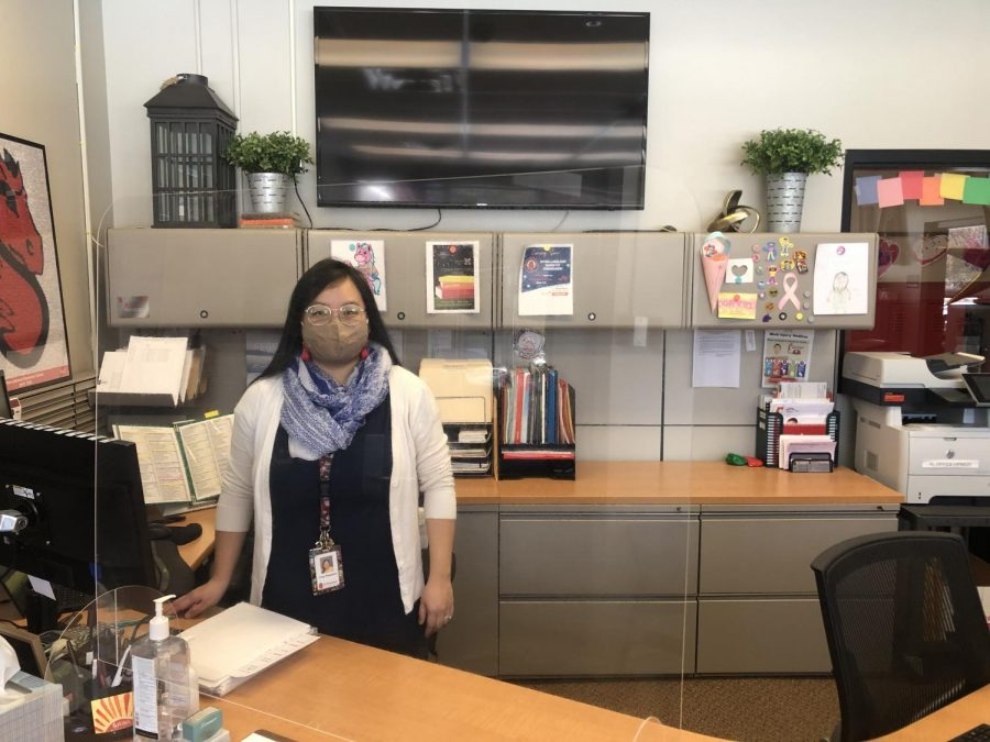 Afton-Lakeland Elementary's secretary provides students with new perspectives