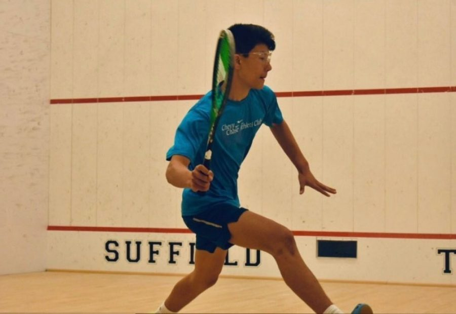 At the recreational level, playing squash is a very lighthearted experience. Competitive squash, however, is a completely different game, James said.