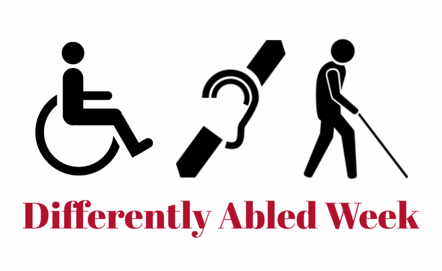 Differently+abled+week+will+take+place+at+the+end+of+March+and+at+the+beginning+of+April.+History+teacher+Carolyn+Kline+created+and+manages+differently+abled+week+as+a+way+to+break+down+barriers+between+her+students+and+special+education+students.+%28Image+made+with+Adobe+Spark%29