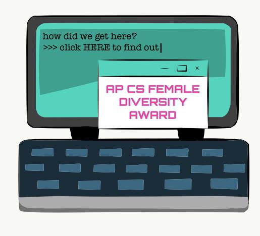 "Jefferson receives ""AP Computer Science Female Diversity Award"""