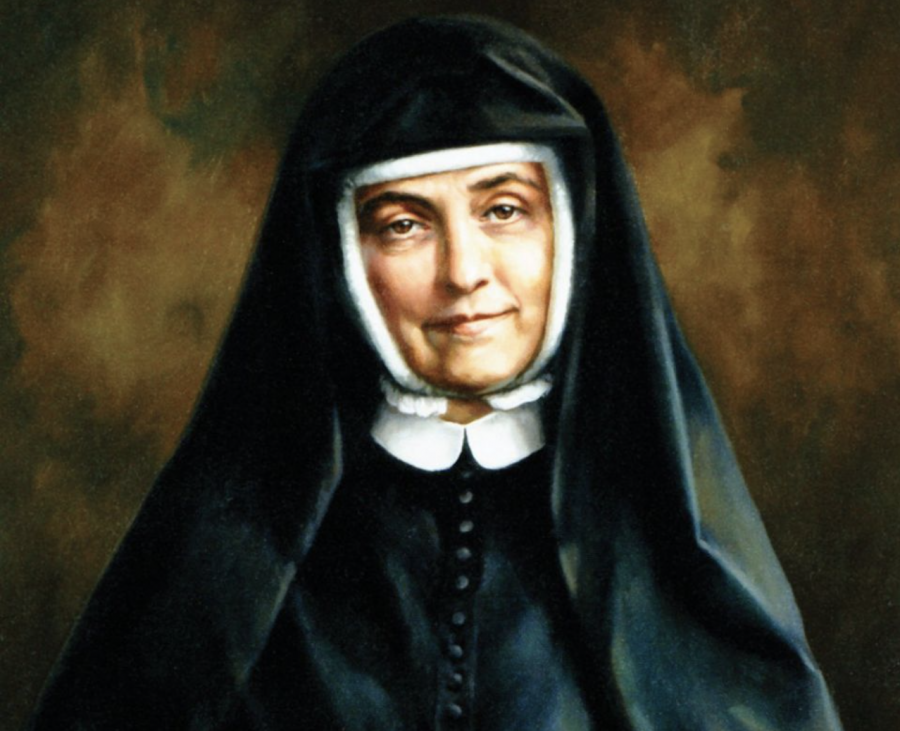 Cornelia+Connelly%2C+founder+of+the+Society+of+the+Holy+Child+Jesus%2C+is+pictured+in+an+undated+painting+by+Ellen+Cooper.+