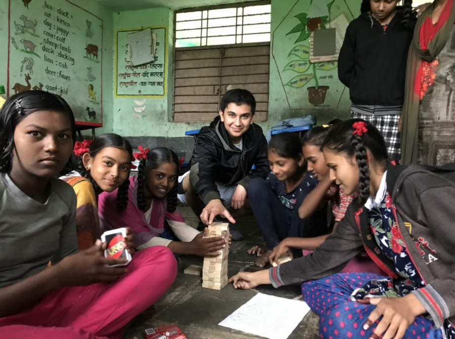 Arhan Sarma utilizes technology to support education in India