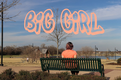 "The heavy burden of being a ""big girl"""