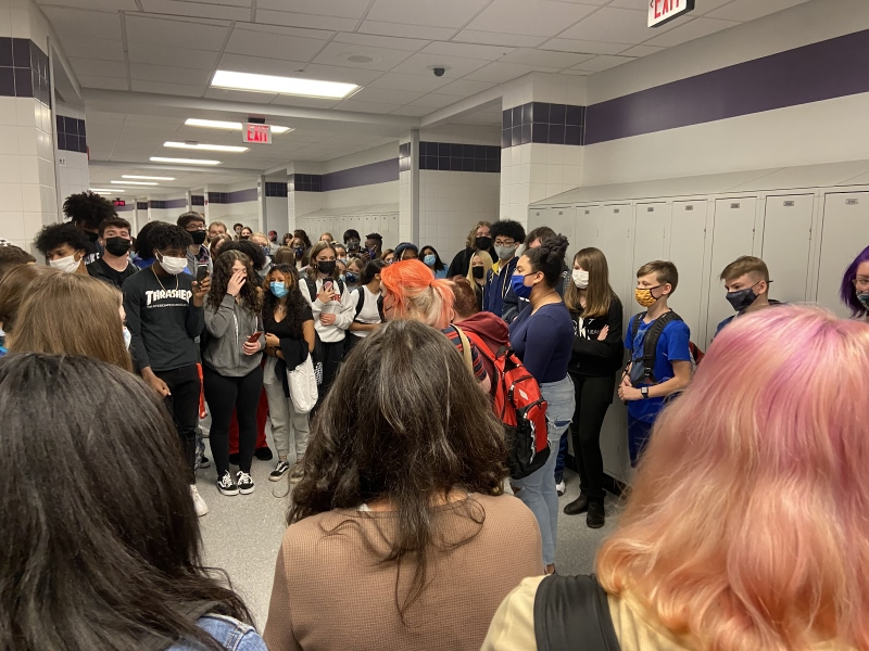 Students protest school's response to abuse allegations