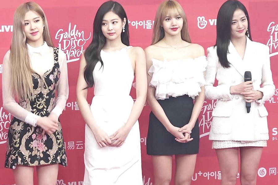 The South Korean band BLACKPINK poses at a red carpet in 2019. For senior Ashley Philip, it's not always the culture of the content that drives fans to Korean pop cultures, but rather the culture surrounding the celebrities that first attracted her.