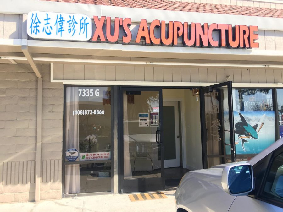 Xu's Acupuncture, the business that Amy Xu owns and operates    Photo Courtesy of Amy Xu | Used with permission