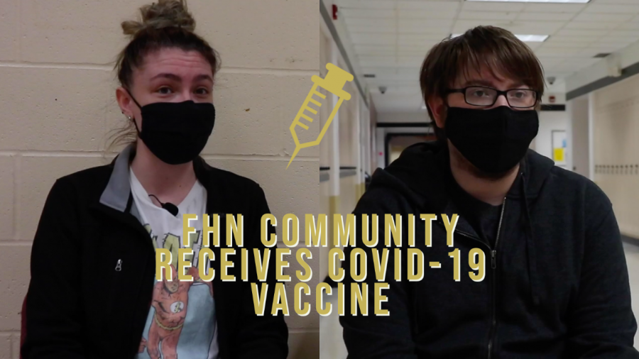 FHN Students and Staff Receive the COVID Vaccine