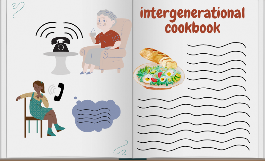 Cookbook project to spark connection between generations and assist broader community