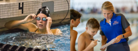 After many years of swimming for West Ottawa, Fris became a coach for WO