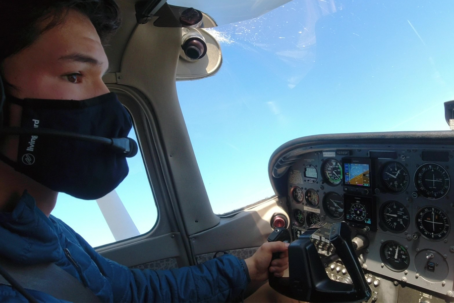 Student soars to new heights amidst pandemic