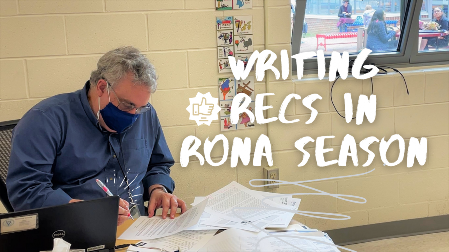 Writing Recs in Rona Season