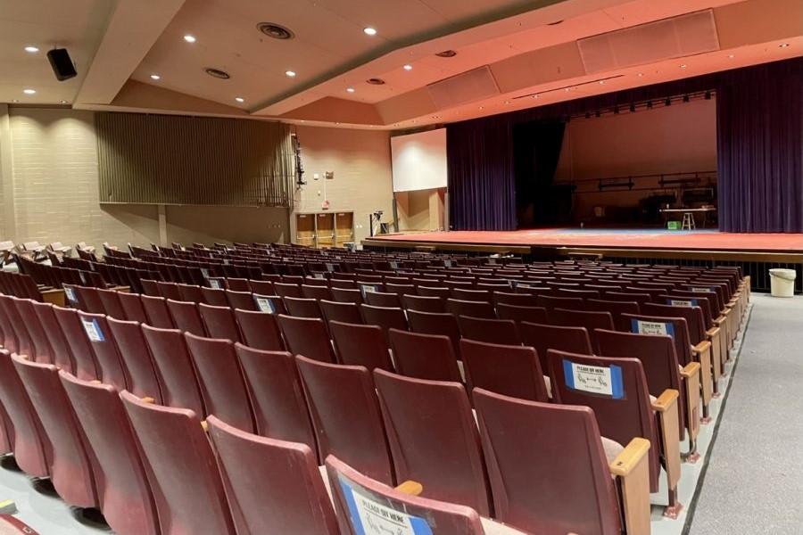 Racist graffiti in school auditorium targets Asian Americans