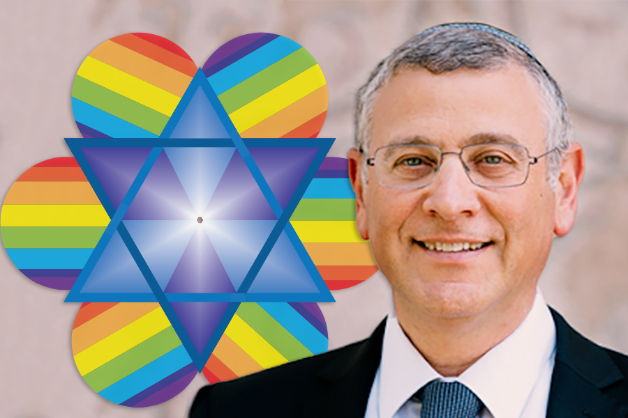 Offering a guide where there is no map, Rabbi Lau writes on how to be Jewish and LGBTQ