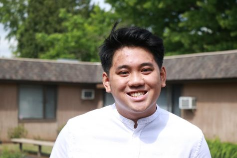 Senior Danny Nguyen is a co-president of the Asian American and Pacific Islander Club at La Salle.