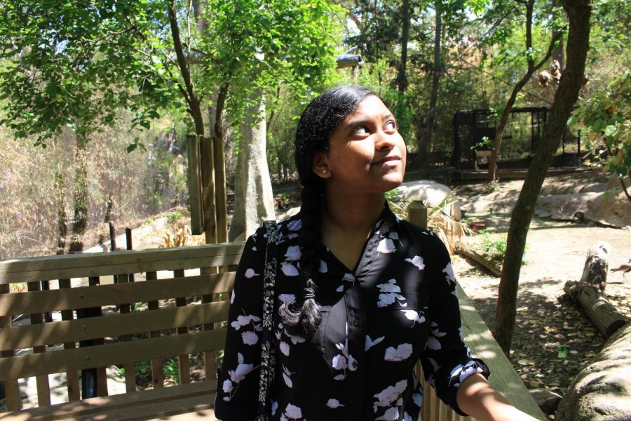 """It's where I love to be"": Radhakrishnan amplifying positive impact of zoos as Dallas Zoo volunteer"