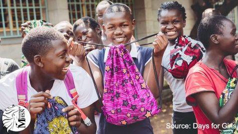 MHSNews   New Club Helps Girls Around the World