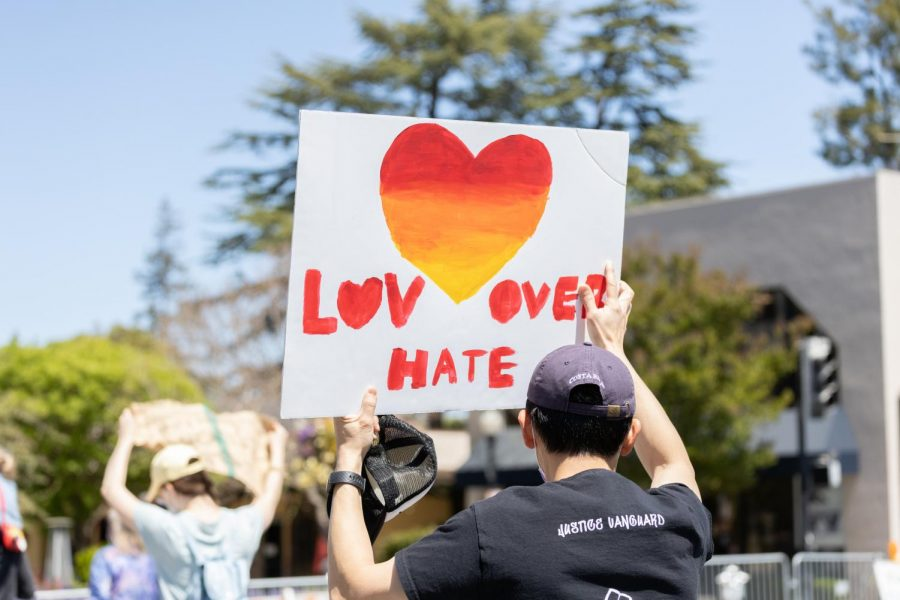 Protesters unite against growing acts of hate across the nation