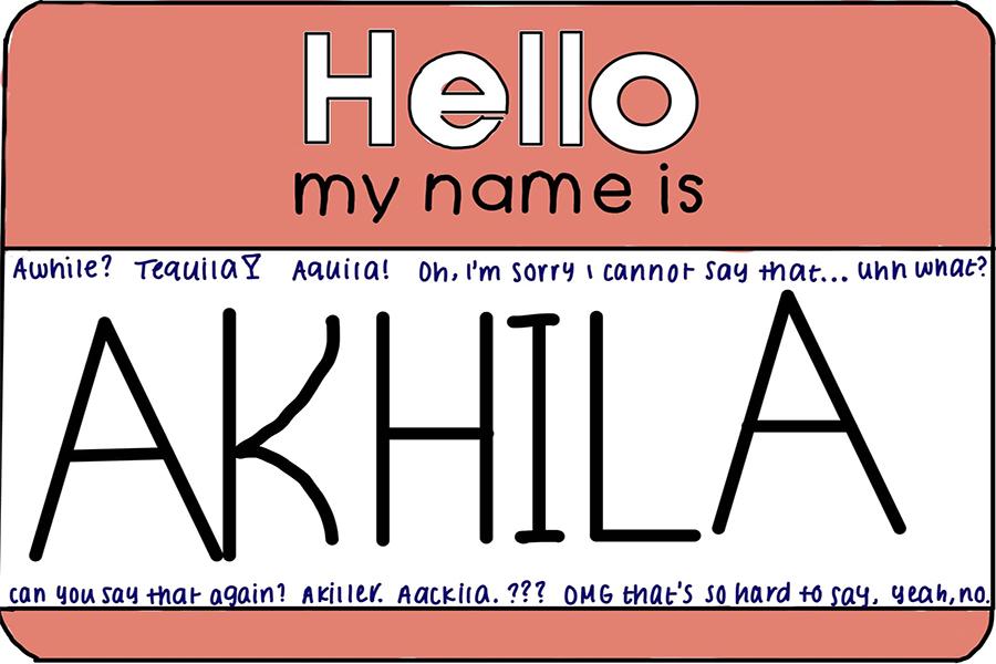 Mispronouncing names = misunderstanding identities