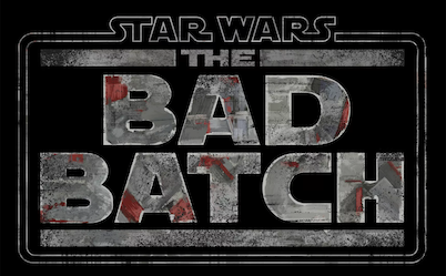 "The title card of ""The Bad Batch"" is reminiscent of ""The Clone Wars."""