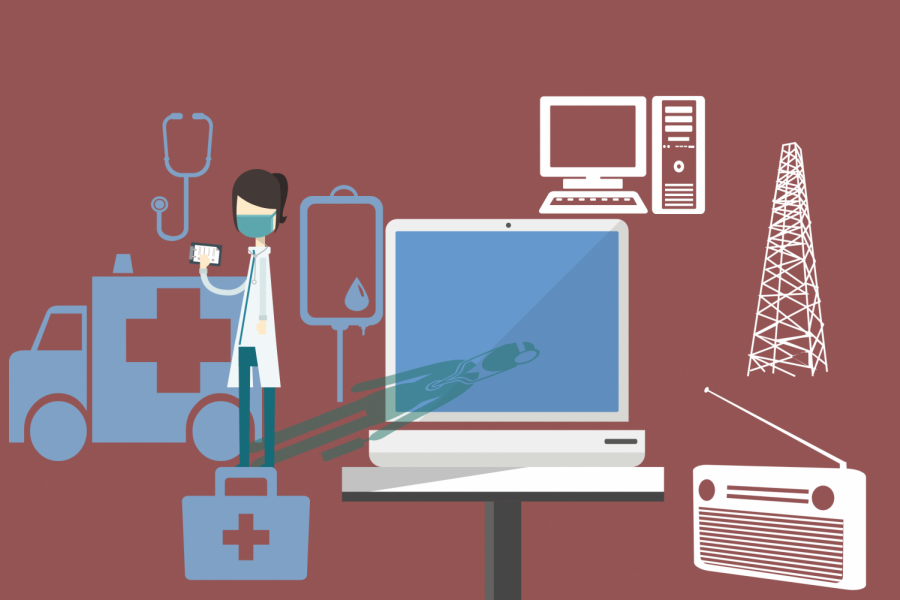Students gain real-world healthcare experience through teleshadowing
