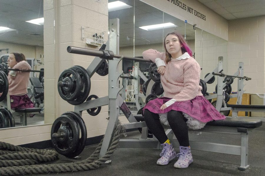 She wears pink skirts and lifts heavy weights. NHS freshman Andie Zelaya is one of the women at NHS who are proving you can be strong and feminine at the same time.