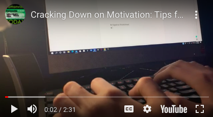 Cracking Down on Motivation: Tips for End of Year Survival