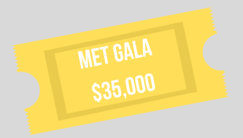 Attendees of the Met Gala are usually sponsored by a brand, as a single ticket costs around 5,000.