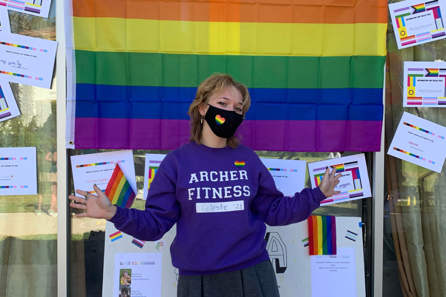 GSA hosts celebration for National Coming Out Day and Queer History Month