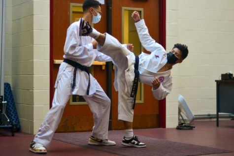 This fall, ninth graders Milo Platz-Walker and Mateo Nacu traveled to Belgrade, Serbia, where they represented the Amateur Athletic Union USA National Karate Team.